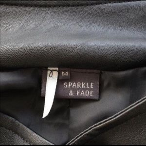 Urban Outfitters Jackets & Coats - BOGONEW UO Sparkle & Fade Stud Moto Leather Jacket